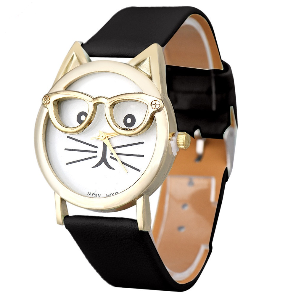 montre fantaisie chat