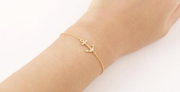 ancre bracelet femme