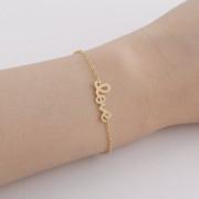 bracelet love dore