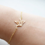 bracelet origami dore
