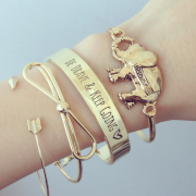 BRACELET BE BRAVE KEEP GOING (2)