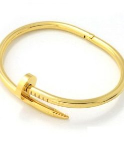 Bracelet clou or 2018