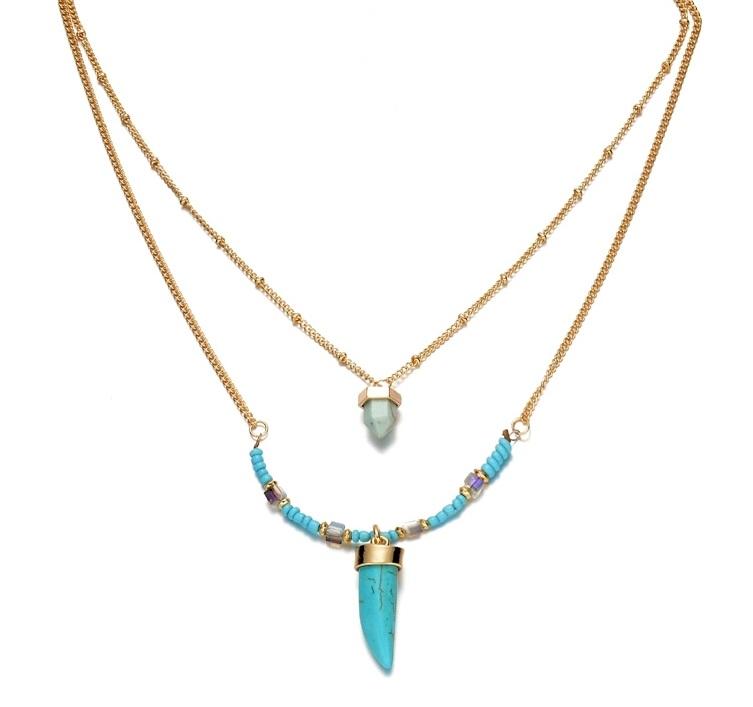 863c459aa91 Idees cadeaux bijoux femme. Idees cadeaux bijoux femme. Collier boho chic  2018