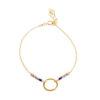 Bracelet cercle or