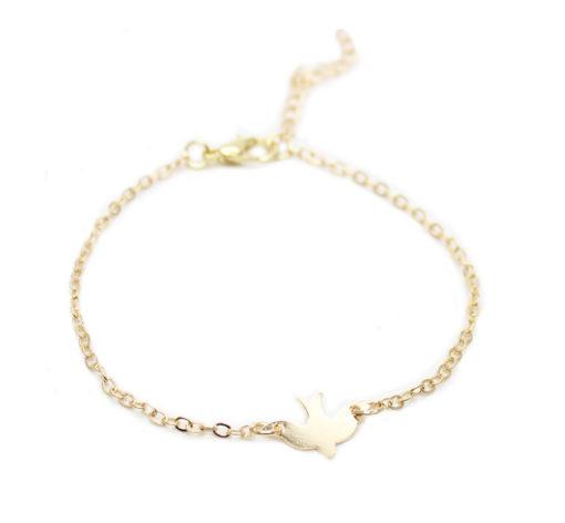 Bracelet hirondelle- idee cadeau femme