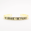 Bracelet porte bohneur courage