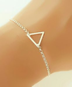 Bracelet triangle- cadeau femme