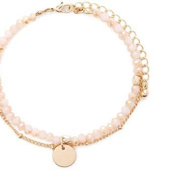 Cadeau femme- bracelet rose fille