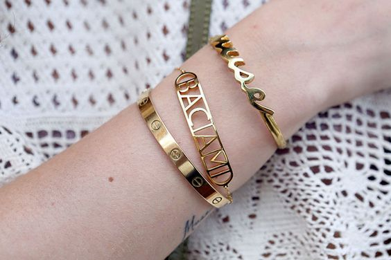 bracelet tendance femme ff