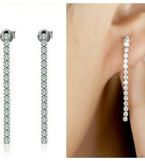 Boucles d'oreilles tendance- Oxyde de zirconium