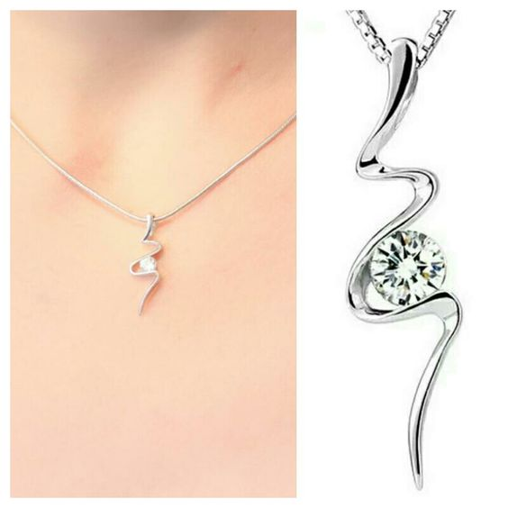 Idée cadeau femme - collier zirconium
