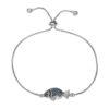 Bracelet mariage original swarovski bleu