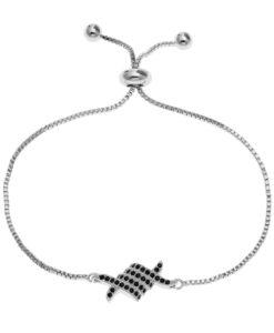 Bracelet mariage swarovski noir