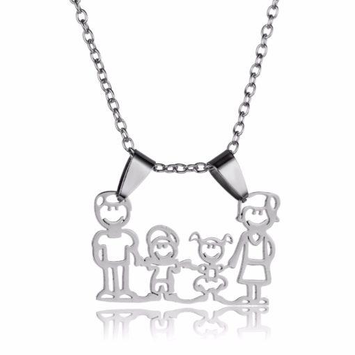 Bijoux familial- Collier famille
