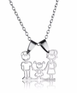 Collier famille