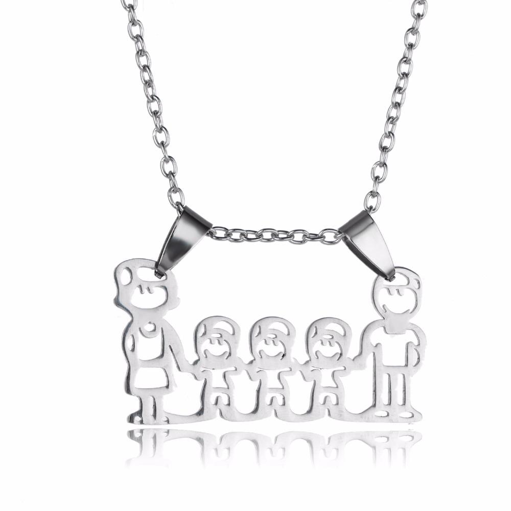 collier familial - bijoux famille