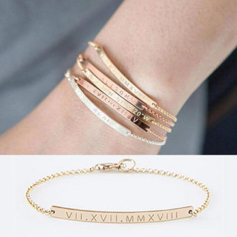 bracelet femme a personnaliser