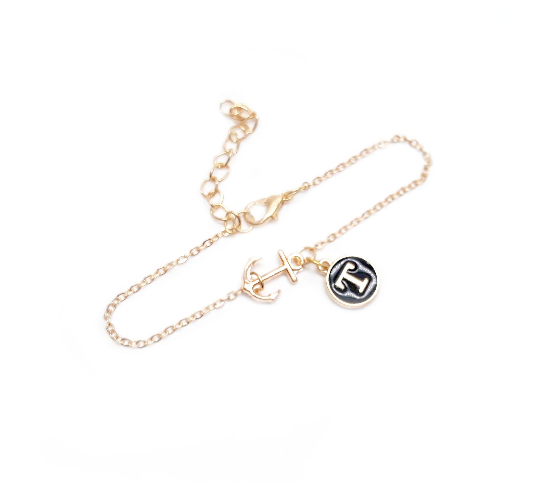 Bracelet ancre personnalise