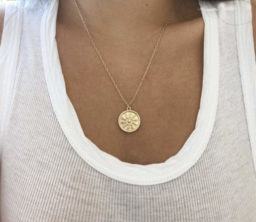 collier medaille