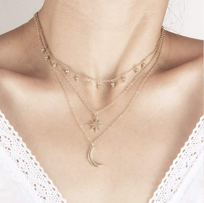 collier multirang tendance 2019