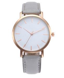 montre pour femme gris
