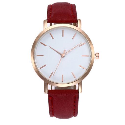 montre pour femme rouge