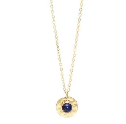 Collier pierre lapis lazuli tendance 2020